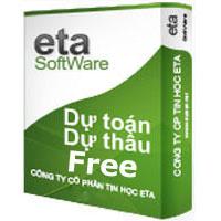 phần mềm dự toán Eta miễn phí