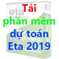 Tải phần mềm dự toán Eta