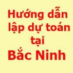 lập dự toán tỉnh Bắc Ninh