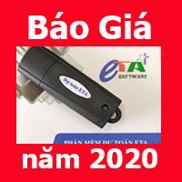 Giá phần mềm dự toán Eta năm 2020