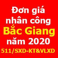 lập dự toán tỉnh Bắc Giang năm 2020