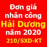 lập dự toán tỉnh hải dương năm 2020
