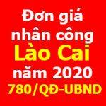 lập dự toán xây dựng tỉnh lào cai năm 2020