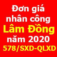 lập dự toán tỉnh lâm đồng năm 2020