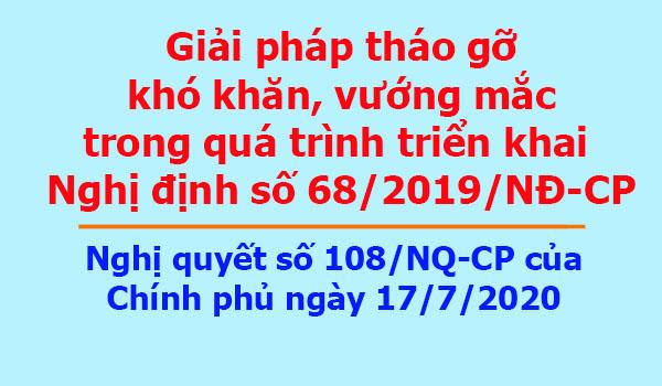 Nghị quyết số 108/NQ-CP của Chính phủ