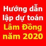 Hướng dẫn lập dự toán Lâm Đồng theo Quyết định 105/QĐ-SXD
