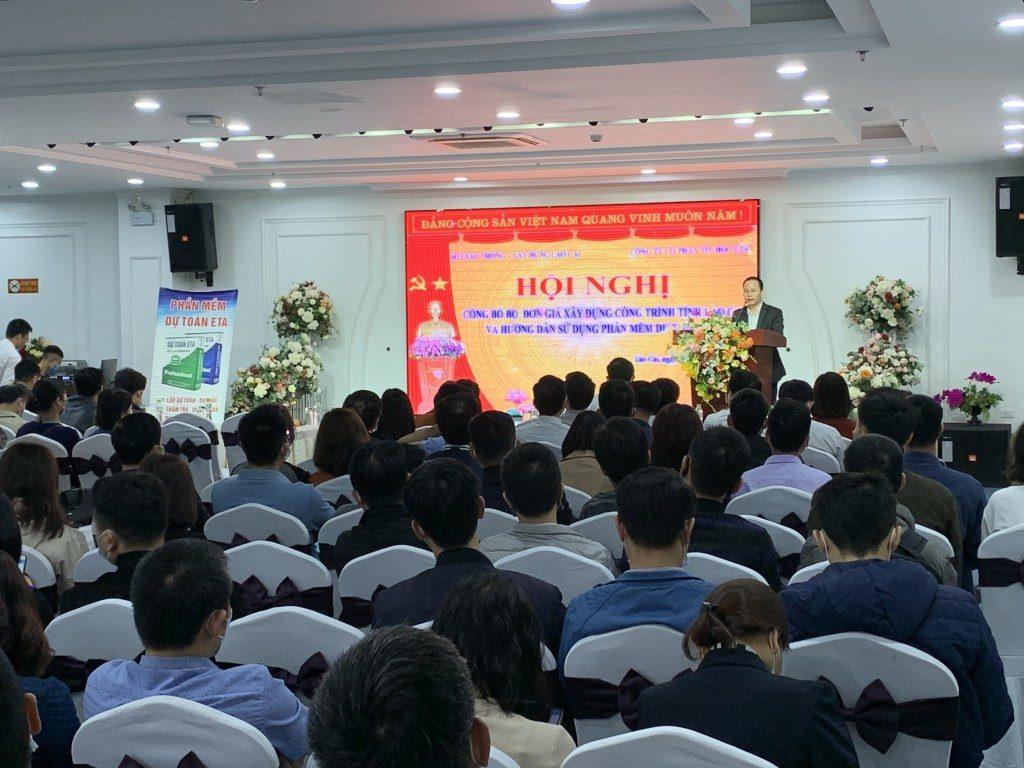 Công bố bộ đơn giá xây dựng tỉnh Lào Cai 2021