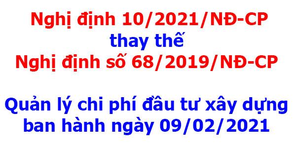 Nghị định 10/2021/NĐ-CP