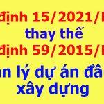 Nghị định số 15/2021/NĐ-CP Chính phủ