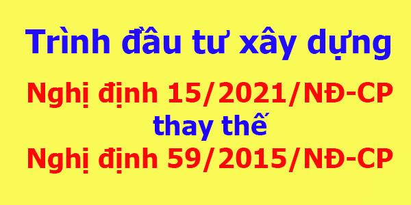 So sánh Nghị định 15/2021 và Nghị định 59/2015