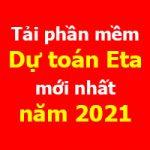 Tải phần mềm dự toán Eta mới nhất năm 2021