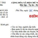Công văn số 2059/SXD-KT&VLXD đơn giá nhân công xây dựng tỉnh Phú Thọ