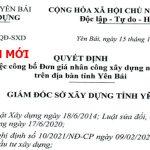 đơn giá nhân công tỉnh Yên Bái năm 2021 Quyết định 2405/QĐ-UBND